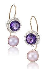 Jemloch Day by Samantha Freeman (Silver, Stone & Pearl Earrings)