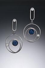 Orbital Earrings by Samantha Freeman (Silver & Stone Earrings)
