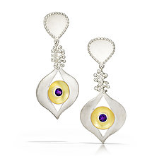 Goddess Earrings by Samantha Freeman (Silver & Stone Earrings)