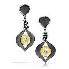Goddess Earrings by Samantha Freeman (Silver & Stone Earrings)