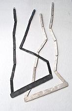 Barras Necklace by Christy Klug (Silver Necklace)