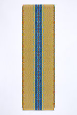 Oleana Table Runner in Yellow by Kelly Marshall (Cotton & Linen Table Runner)