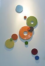 Neutra III by James Aarons (Ceramic Wall Sculpture)