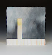 Vertical Storm by James Aarons (Ceramic Wall Sculpture)