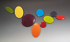Little Gems by James Aarons (Ceramic Wall Sculpture)