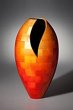Dee Vee, Mid Sized by Joel Hunnicutt (Wood Sculpture)