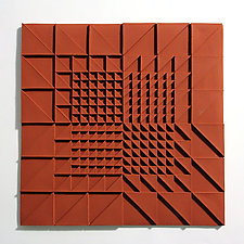 Life Twists and Turns 04 by Marek Jacisin (Ceramic Tile)