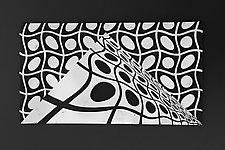 Mountain #1 by Marek Jacisin (Ceramic Wall Sculpture)