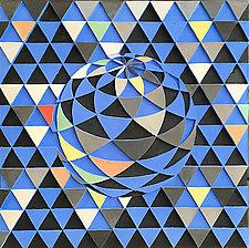 Big Blue by Marek Jacisin (Ceramic Wall Sculpture)
