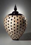 Lidded Urn by Joel Hunnicutt (Wood Sculpture)
