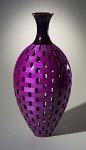Tall Bottle by Joel Hunnicutt (Wood Sculpture)