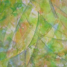 Solar Flare by Nelda Warkentin (Fiber Wall Hanging)