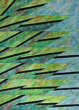Meadow Pine 2 by Nelda Warkentin (Fiber Wall Hanging)