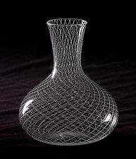 Reticello Wine Decanter by Robert Dane (Art Glass Decanter)