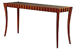 Sapele Console Table by David N. Ebner (Wood Table)