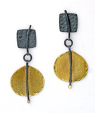 Swing Earrings by Sydney Lynch (Gold & Silver Earrings)