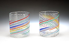 Rocks by Tom Stoenner (Art Glass Tumblers)