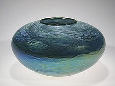 Galaxy Vase by Tom Stoenner (Art Glass Vase)