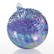 Midnight Clear by Tom Stoenner (Art Glass Ornament)