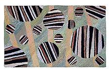 Slapton Sands by Meg Little (Wool Rug)