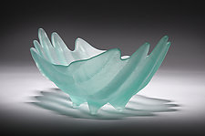 Adrift by Hudson Beach Glass (Art Glass Bowl)
