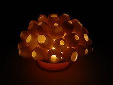 Barnacles Coral Tea Light by Lilach Lotan (Ceramic Candleholder)