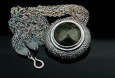 Pacific Swim by Hratch Babikian (Silver & Stone Necklace)