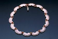 Tail Swim by Hratch Babikian (Gold & Stone Necklace)