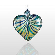Sea of Love by Glass Eye Studio (Art Glass Ornament)