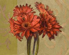 Orange Gerbers by Cathy Locke (Giclee Print)