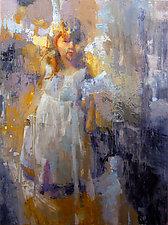 Wondering by Cathy Locke (Oil Painting)