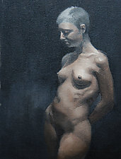 Nude by Cathy Locke (Oil Painting)