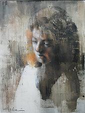 Washin Portrait - Study by Cathy Locke (Pastel Painting)