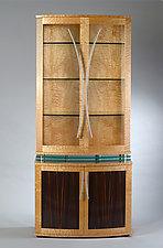 Levitating Display / China Cabinet by Nathan Hunter (Wood Cabinet)