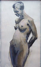 Torso II by Cathy Locke (Oil Painting)