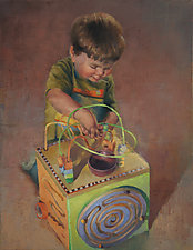Toy Box by Cathy Locke (Oil Painting)