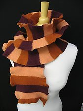 Willow Wide Scarf by Sonya Mackintosh (Wool Scarf)