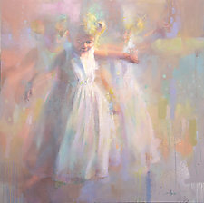 Twirling by Cathy Locke (Pastel Painting)