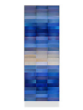 Prussian Blue by Robert A. Brown and Anne Moran (Metal Wall Sculpture)
