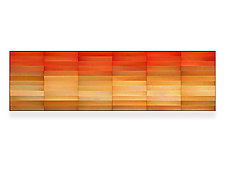 Citrine by Robert A. Brown and Anne Moran (Metal Wall Sculpture)