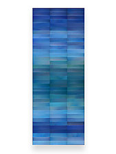 Fluorite by Robert A. Brown and Anne Moran (Metal Wall Sculpture)