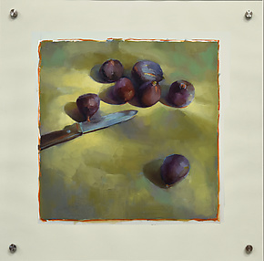 Figs by Cathy Locke (Oil Painting)
