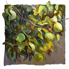 Quince by Cathy Locke (Oil Painting)