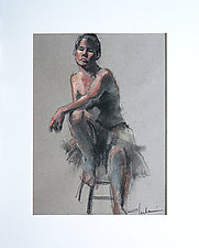 Dancer I by Cathy Locke (Pastel Drawing)