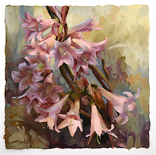 Pink Ladies by Cathy Locke (Paintings & Drawings Oil Paintings)