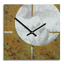 Circle and Square by Robert Rickard (Metal Clock)