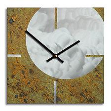 Circle and Square by Robert Rickard (Metal Clock)