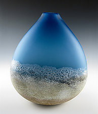 Shoreline by Daniel Scogna (Art Glass Vessel)