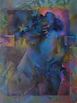 Blue Madonna by Cathy Locke (Oil Painting)