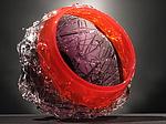 Nest Bowl by Anthony Gelpi (Art Glass Bowl)